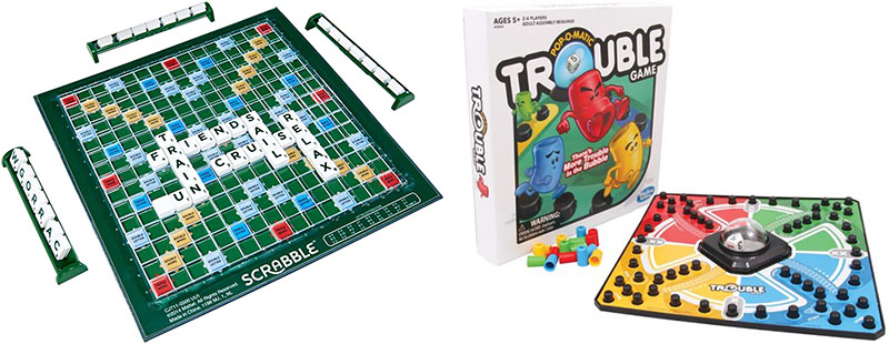 Scrabble and Trouble