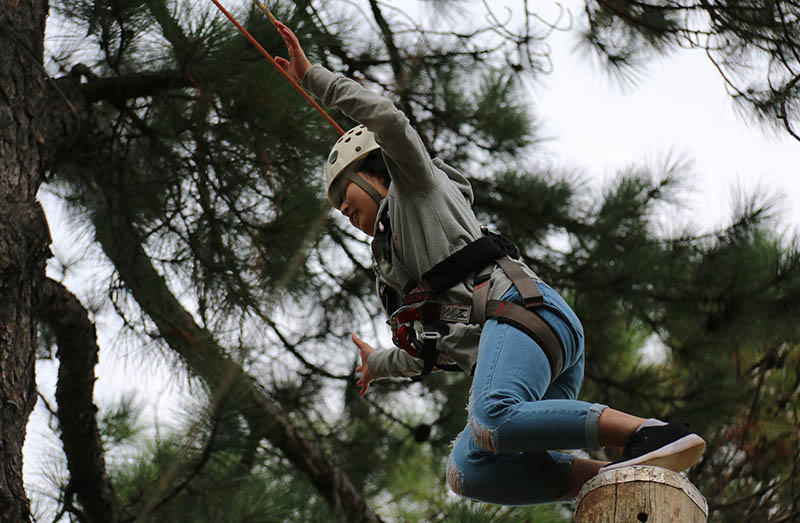 School camps help build confidence and resilience