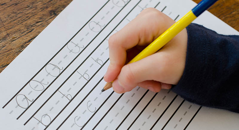 Helping Your Child with Handwriting