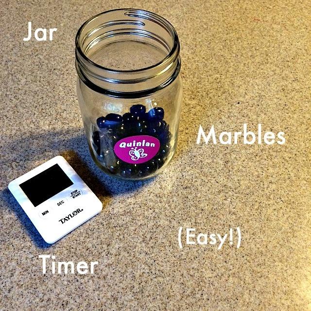 Marble jar planner