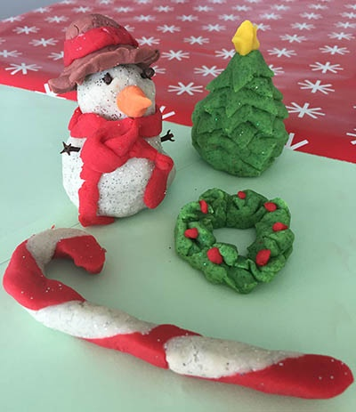 Festive dough creations