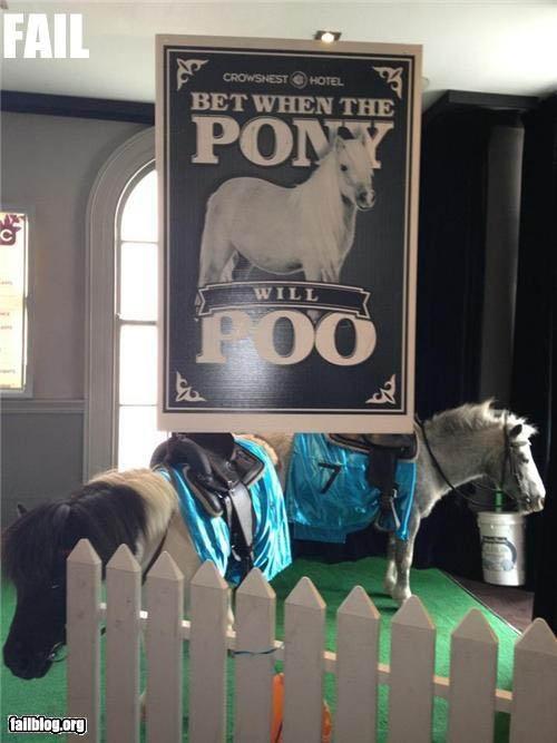 Pooping Ponies