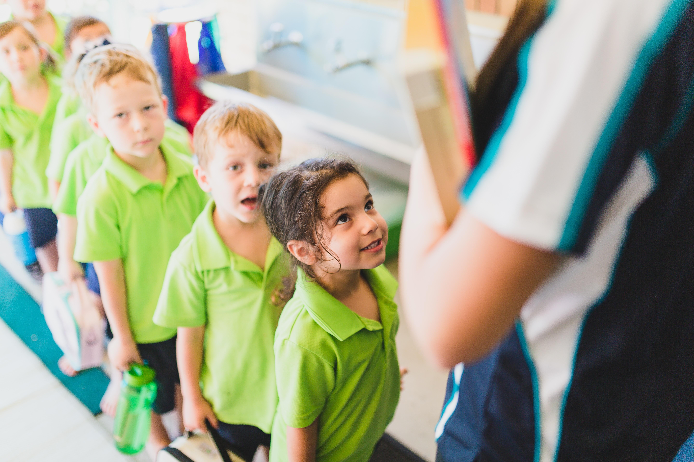 97 percent of Queesland pre-schoolers attend a kindergarten program