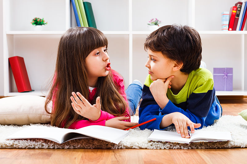 Teaching Kids Conversation Skills