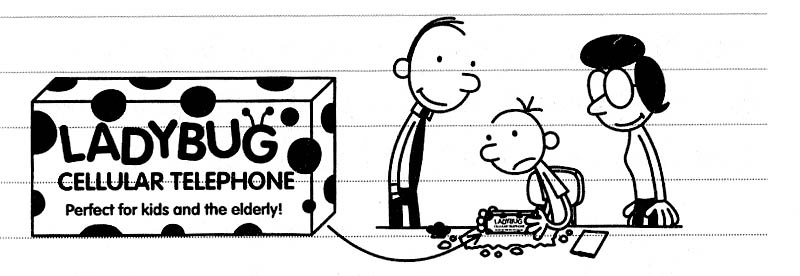 pic from Diary of a Wimpy Kid