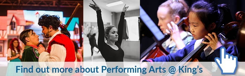 Find out more about Performing Arts @ King's