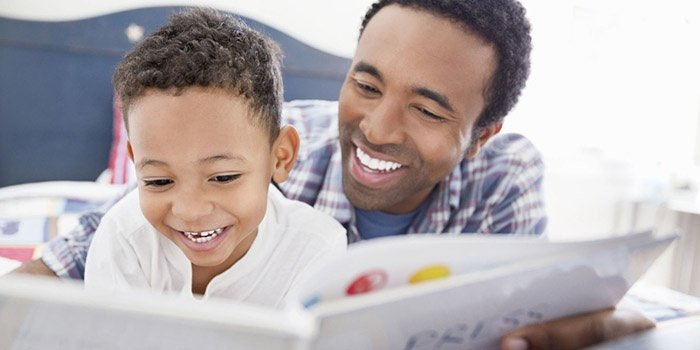 Why Daddy should read the bedtime story